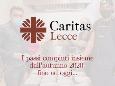 Caritas Lecce: i passi compiuti
